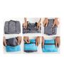Uberlyfe Waterproof Large Folding Polyester Blue Travel Bag