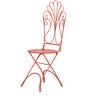 Vine Garden Chair in Red Colour by @home