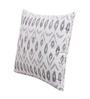 Vista Grey Cotton 16 x 16 Inch Cushion Cover