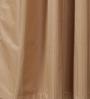 Vista Home Fashion Brown Cotton 90 x 54 Inch Solid Door Curtain