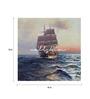 Wall Skin Canvas 18 x 18 Inch The Magnificent Sea Ship Framed Digital Art Print
