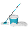 Wonder Blue Spin Mop with Home Cleaning Kit