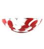 Zahab Red and White Resin Wash Basin